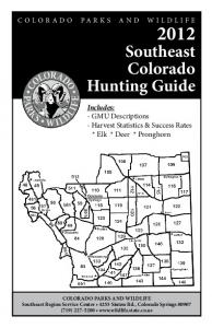 Southeast Colorado Hunting Guide