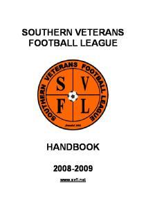 SOUTHERN VETERANS FOOTBALL LEAGUE