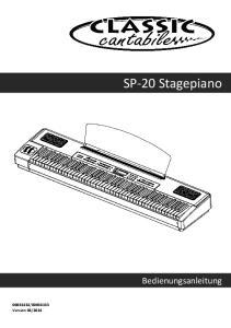 SP-20 Stagepiano. Bedienungsanleitung
