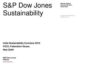 S&P Dow Jones Sustainability