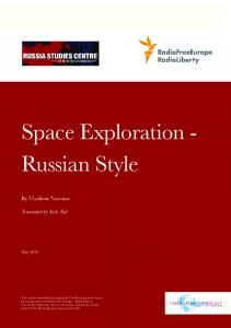 Space Exploration - Russian Style