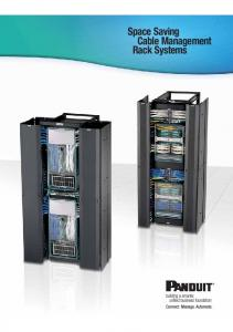 Space Saving Cable Management Rack Systems