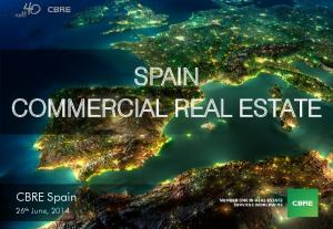 SPAIN COMMERCIAL REAL ESTATE