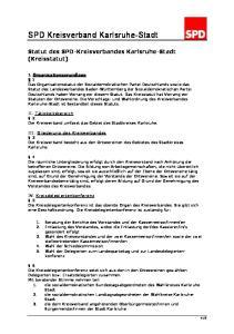SPD Kreisverband Karlsruhe-Stadt