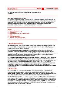 Spdfraktion Bonn newsletter sport