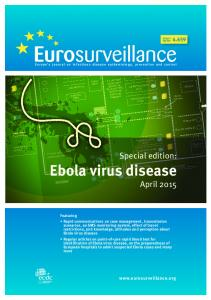Special edition: Ebola virus disease April 2015