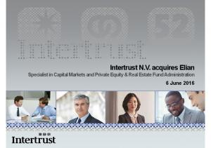 Specialist in Capital Markets and Private Equity & Real Estate Fund Administration