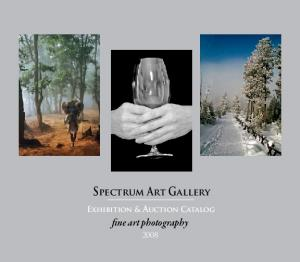 Spectrum Art Gallery Exhibition & Auction Catalog
