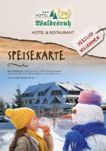 SPEISEKARTE HERZLICH WILLKOMMEN HOTEL & RESTAURANT