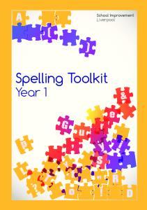 Spelling Toolkit Year 1