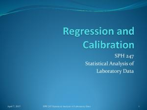 SPH 247 Statistical Analysis of Laboratory Data. April 7, 2015 SPH 247 Statistical Analysis of Laboratory Data 1