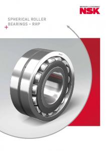 SPHERICAL ROLLER BEARINGS RHP
