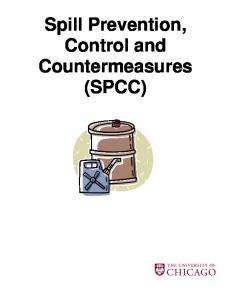 Spill Prevention, Control and Countermeasures (SPCC)