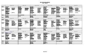 Spirit of Christ Ministry Schedule Nov. 7 - Feb. 28