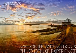 SPIRIT OF THE ANDES:CUSCO &
