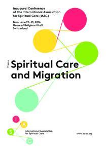 Spiritual Care and Migration