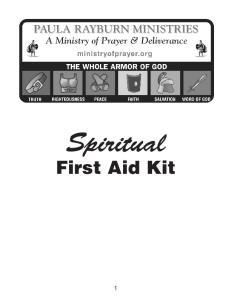 Spiritual. First Aid Kit