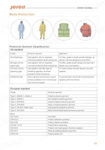 splash type chemical protective boots and gloves. chemical protective boots and gloves. Spray compact protective garment