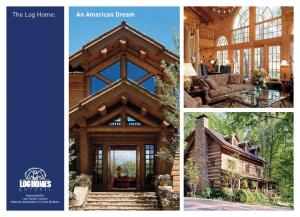Sponsored By Log Homes Council National Association of Home Builders