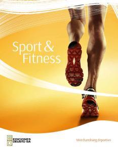 Sport& Fitness. Merchandising deportivo