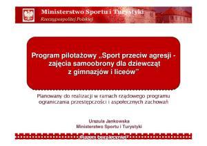 Sport kobiet w dokumentach strategicznych