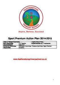 Sport Premium Action Plan