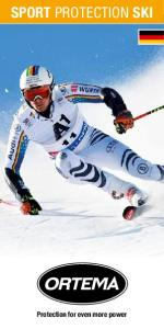 SPORT PROTECTION SKI. Protection for even more power