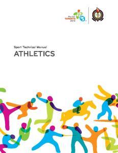 Sport Technical Manual ATHLETICS