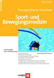 Sport- und Bewegungsmedizin