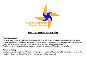 Sports Premium Action Plan