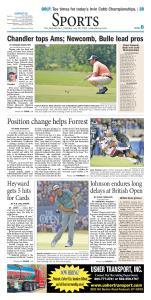 Sports. The Paducah Sun Sunday, July 19, 2015 paducahsun.com