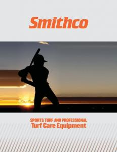 SPORTS TURF AND PROFESSIONAL. Turf Care Equipment. Sports Turf & Professional Turf Care Equipment