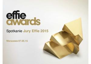 Spotkanie Jury Effie Warszawa