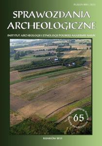 Sprawozdania Archeologiczne