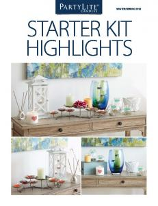 SPRING 2016 STARTER KIT HIGHLIGHTS