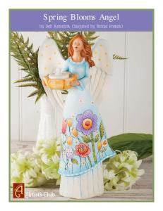 Spring Blooms Angel. by Deb Antonick (Inspired by Terrye French)