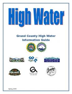 Spring, Grand County High Water Information Guide