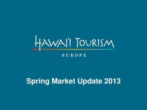 Spring Market Update 2013