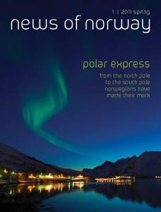 spring. news of norway. polar express. from the north pole to the south pole norwegians have made their mark