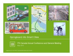 Springboard into Smart Cities