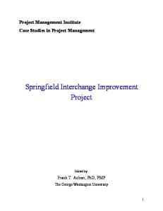 Springfield Interchange Improvement Project