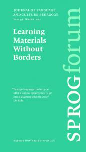 sprogforum Learning Materials Without Borders journal of language and culture pedagogy aarhus universitetsforlag Issue 59