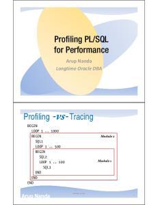 SQL for Performance