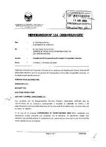 Sr. Julio Cesar Torres Garda GERENTEDETECNOLOGfASDE INFORMACION Y DE LASCOMUNICACIONES
