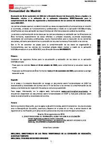 SRAS. TITULARES DE CENTROS PRIVADOS