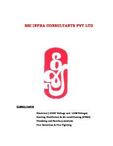 SRI INFRA CONSULTANTS PVT LTD