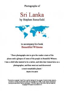 Sri Lanka by Stephen Scourfield