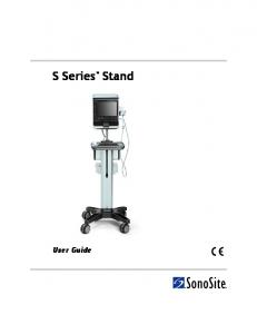 SSeries Stand. User Guide