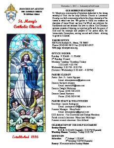 St. Mary s Catholic Church