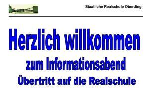 Staatliche Realschule Oberding